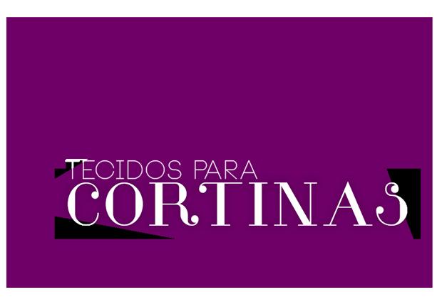 Banner Title Tecidos para cortinas