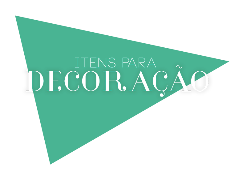 Banner Title Itens decoração