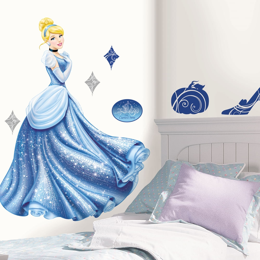 Adesivos-de-Parede-Decorativos-Cinderella-Glamour-1957-1