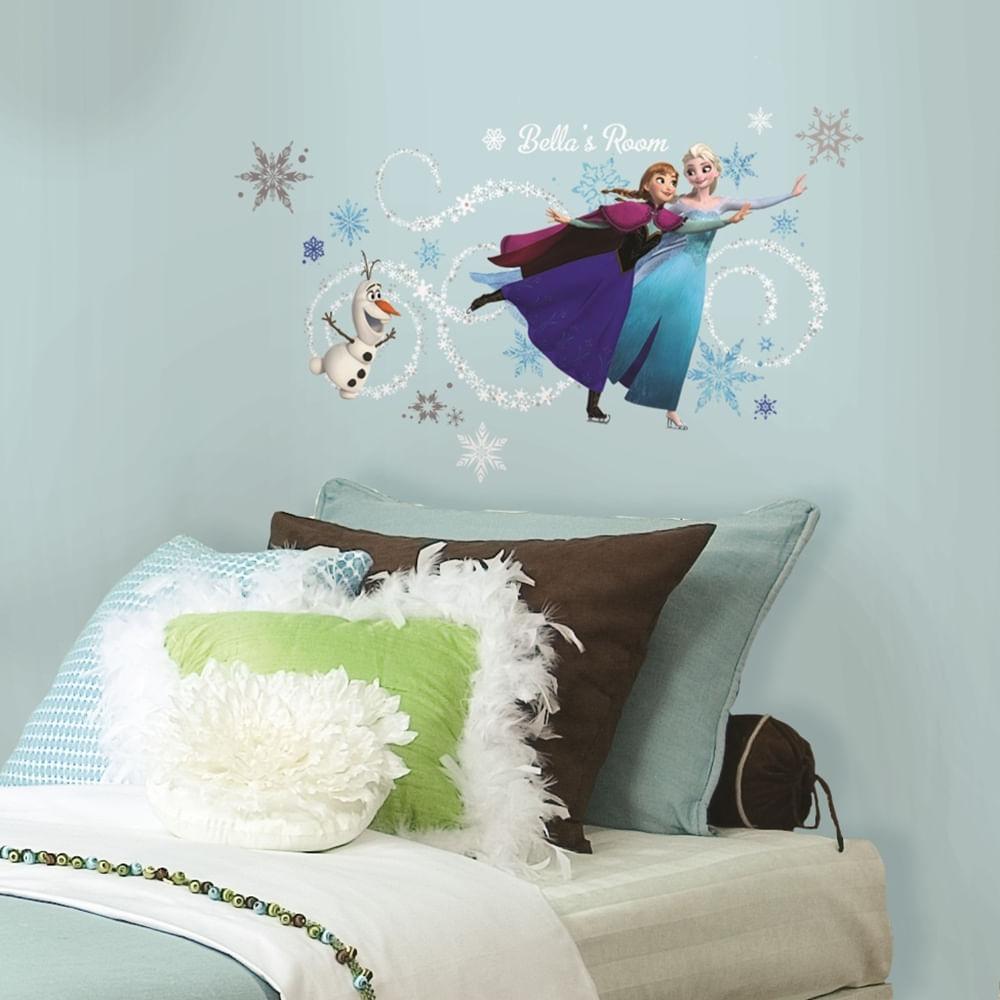 Adesivos-de-Parede-Decorativos-Frozen-com-alfabeto-2738-1