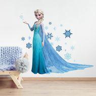 Adesivos-de-Parede-Decorativos-Frozen-Elsa-com-gliter-2371-1