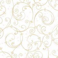 Papel-de-Parede-Disney-Branco-dourado-DI0905