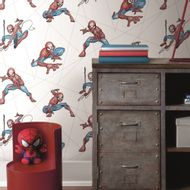 Papel-de-Parede-Disney-Homem-aranha-amb-DI0939