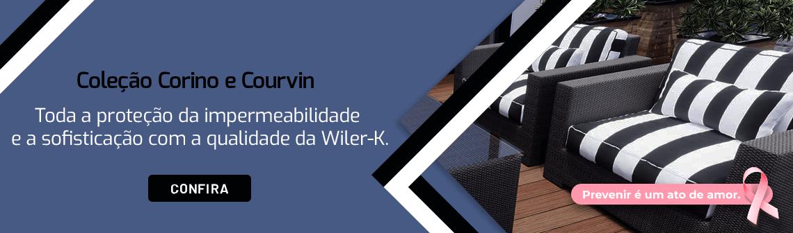 Banner coleção Corino e courvin